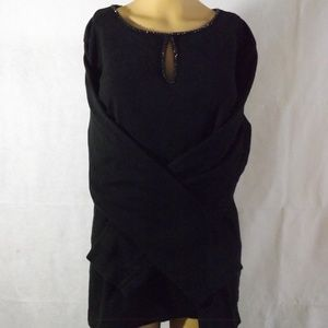 Womens ADDITIONS by CHICO'S Shirt - Black - Sz 3